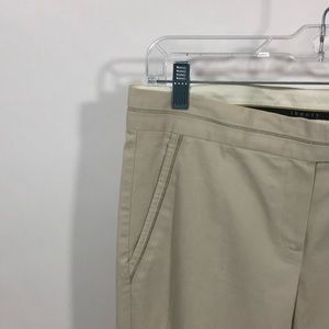 Theory Pants - Theory Khaki/Beige Slacks Pants Trouser Stretch